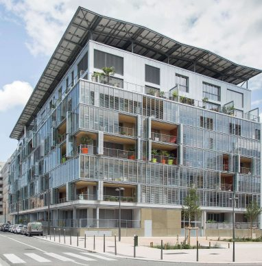 3D Bâtiment durable urbain
