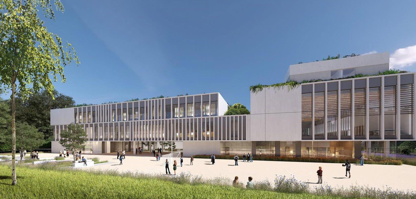 3D bâtiment environnement Edeis
