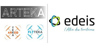 Logo partenaires Edeis