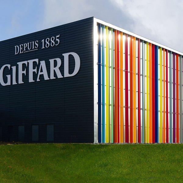 Construction d'une nouvelle unité de production de sirops et d'une unité logistique GIFFARD