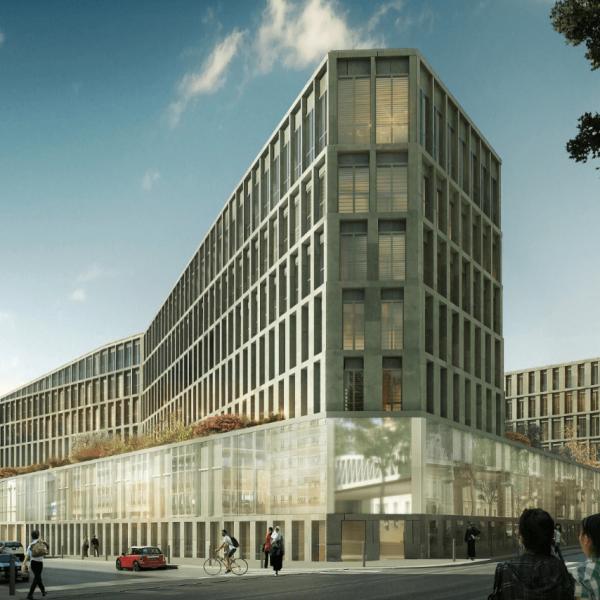 Nouvel hôpital Lariboisière - Paris