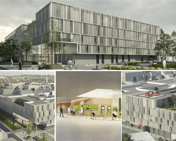 Modernisation du Centre Hospitalier - Abbeville