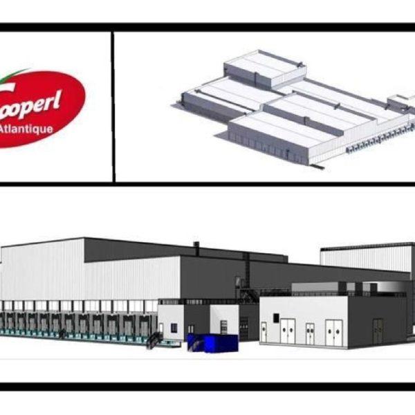 Construction d'un site logistique - Secteur Viande COOPERL ARC ATLANTIQUE