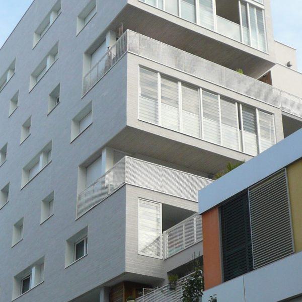 Confluence Ilot J1b - construction d'un bâtiment de logements