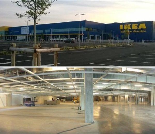 Magasin d'ameublement et de décoration intérieure IKEA