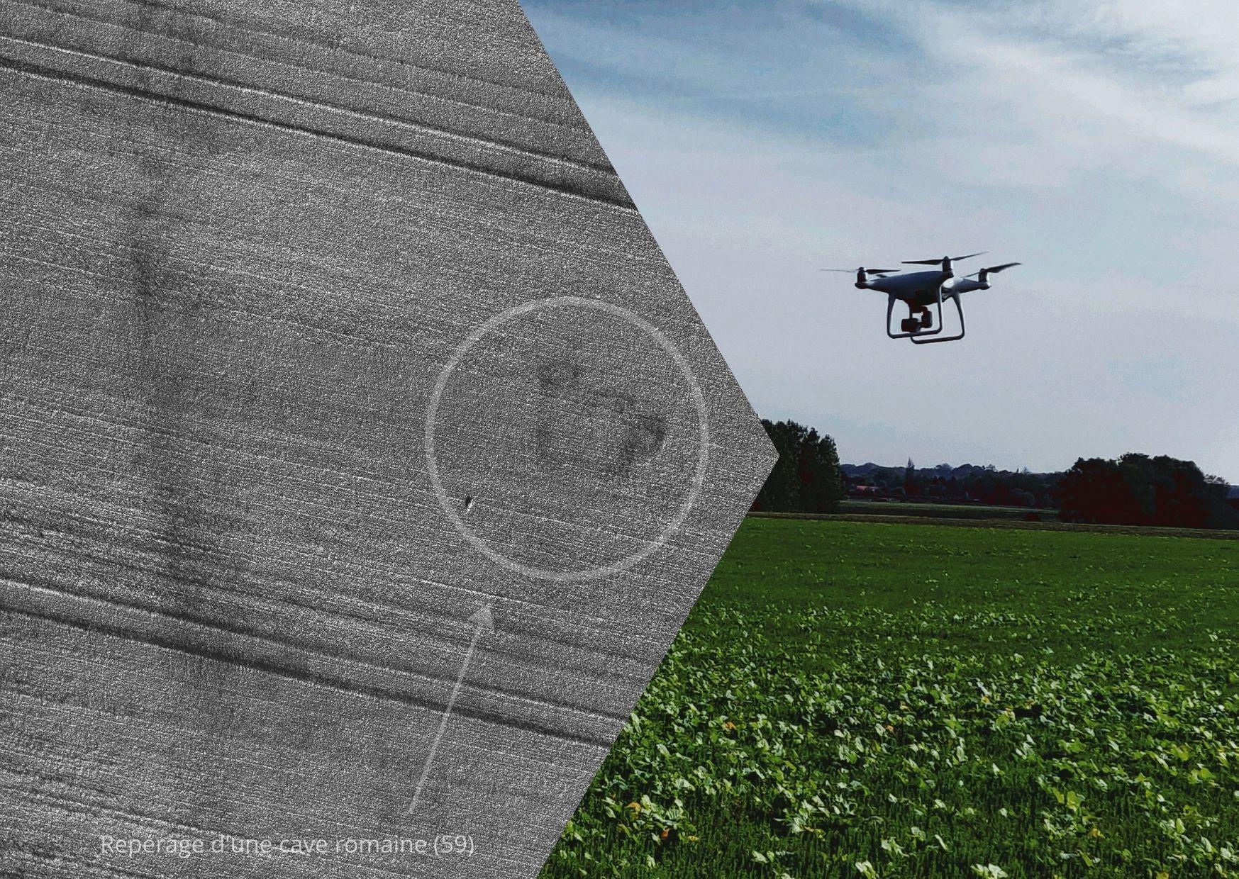 photo drone Edeis