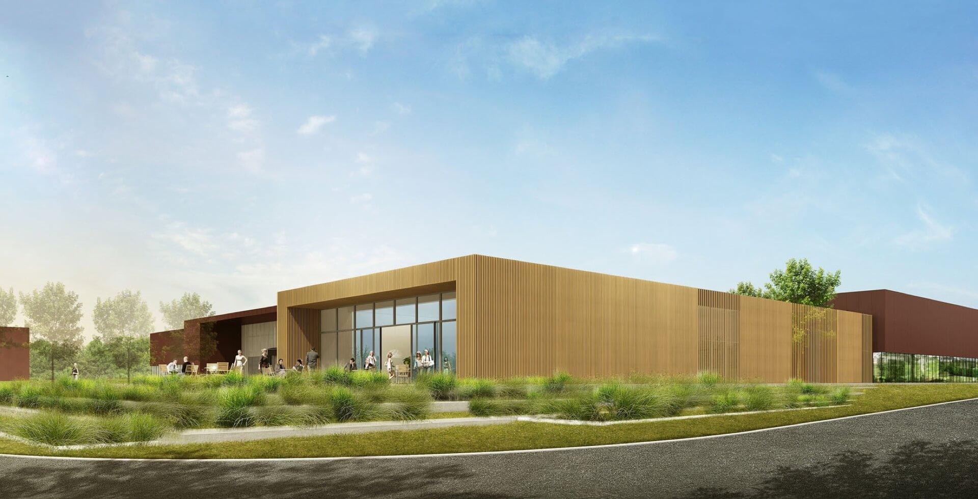 Construction des «Ateliers de Pouzauges» pour LONGCHAMP