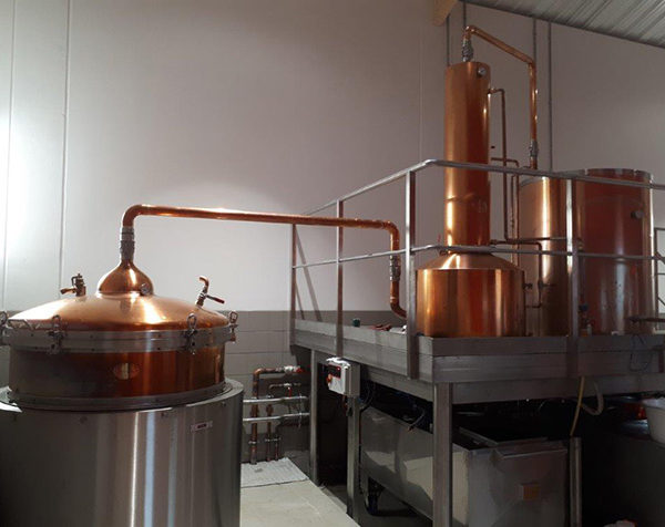 Bordeaux : Moon Harbour distille son whisky dans un bunker