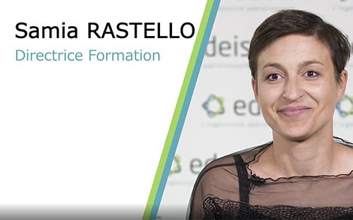 Vidéo métier Samia Rastello