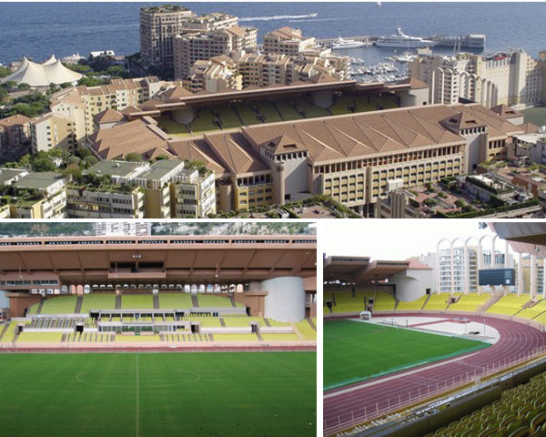 Rénovation du Stade Louis II - Monaco