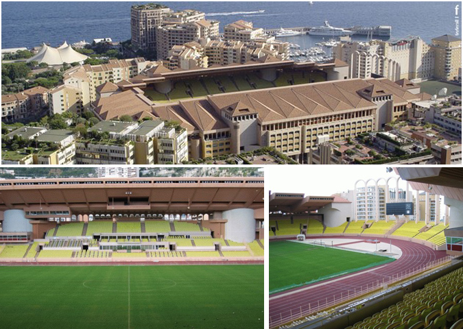 Rénovation du Stade Louis II – Monaco