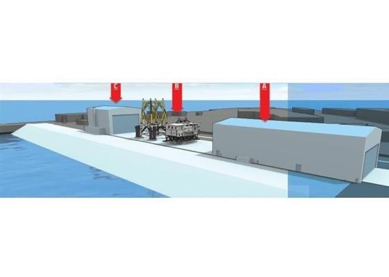 Construction d'un nouveau site industriel dédié aux énergies marines renouvelables (EMR) STX